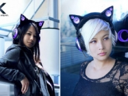 Play Your Mewsic On These Super Cute Cat Ear Headphones