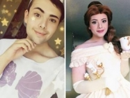 One Man Flawlessly Transforms Himself Into Disney Princesses