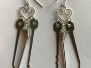 Lock Pick Earrings, For The Most Fashionable Of Burglars