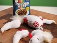 Easy-Open Canned Unicorn Meat Excellent Source of Sparkles, Magic in Every Bite, 5.5 Ounce - Stuffed Plush Toy