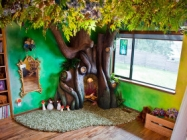 An Awesome Dad Builds A Fairy Tree For His Daughter
