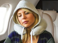 The Travel Hoodie Pillow Is A Hoodie And Travel Pillow Combo