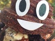 Poop Emoji Churro, Because Poop Food Is A Thing I Guess