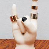 Rock On Hand Ring Holder