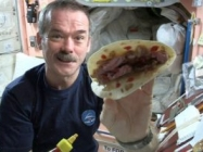 Astronaut Hadfield Makes The First Ever Space Burrito