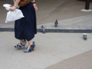One Japanese Shoemaker Made Herself Some PIGEON SHOES
