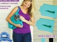 Carry Around Your Kitties In The Purrfect Pouch Cat Carrier
