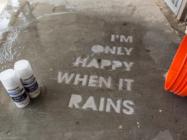 Street Art That Only Appears When It Rains