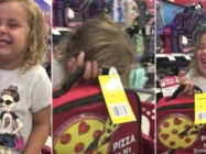 This Little Girl Cracking Up Over A Pizza Lunch Box Is A Delight