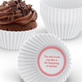 Fortune Cookie Cupcake Molds