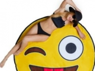 Big Mouth Toys Giant Emoji Beach Blanket